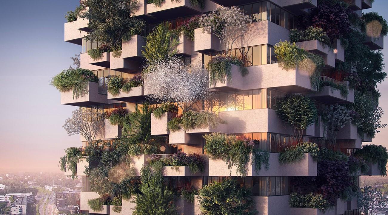 Il Bosco verticale Trudo avrà un'altezza di 75 metri /  Stefano Boeri Architetti
