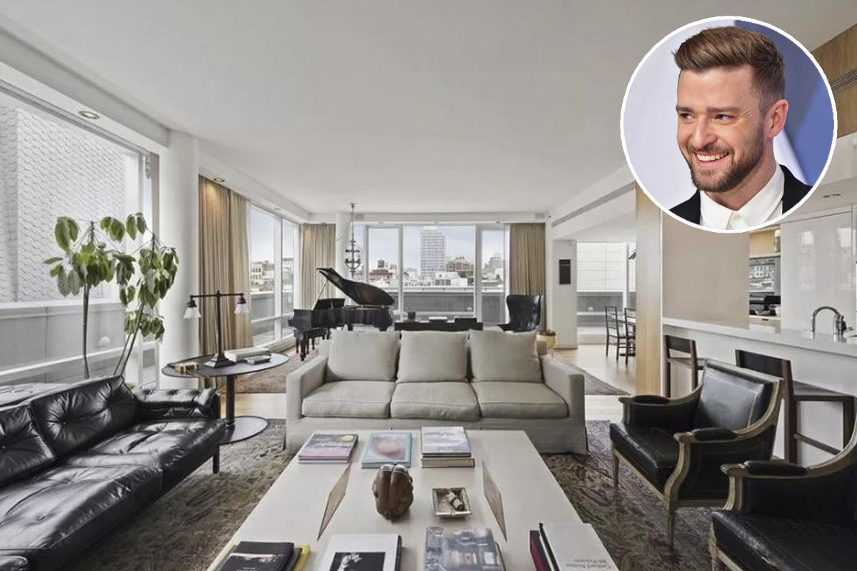 Timberlake ha comprato l'attico nel 2010 per 8 milioni di dollari / Stribling