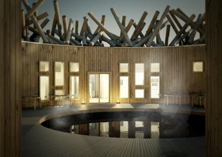 Il design dell'Artic Bath / Johan Kauppi