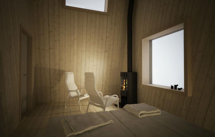 Le stanze misurano 25 m2 / Johan Kauppi