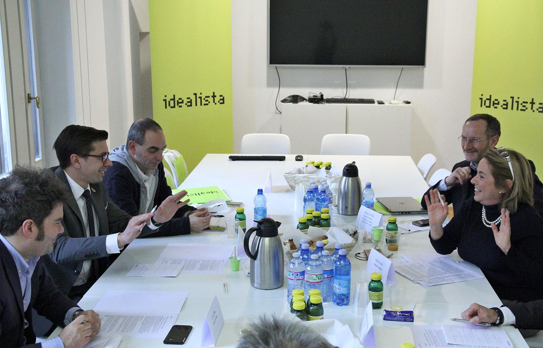 Da destra; Cioffi, Rossi, Mitri, Leder, Lops