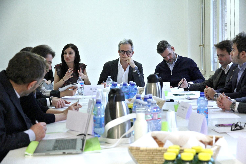 Da destra: Lops, Zorgno, Encinar, De Tommaso, Palasciano, Segalerba, Rossi