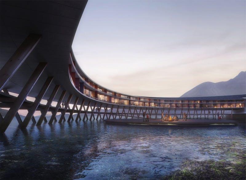 Si prevede che aprirà nel 2021 / Snøhetta