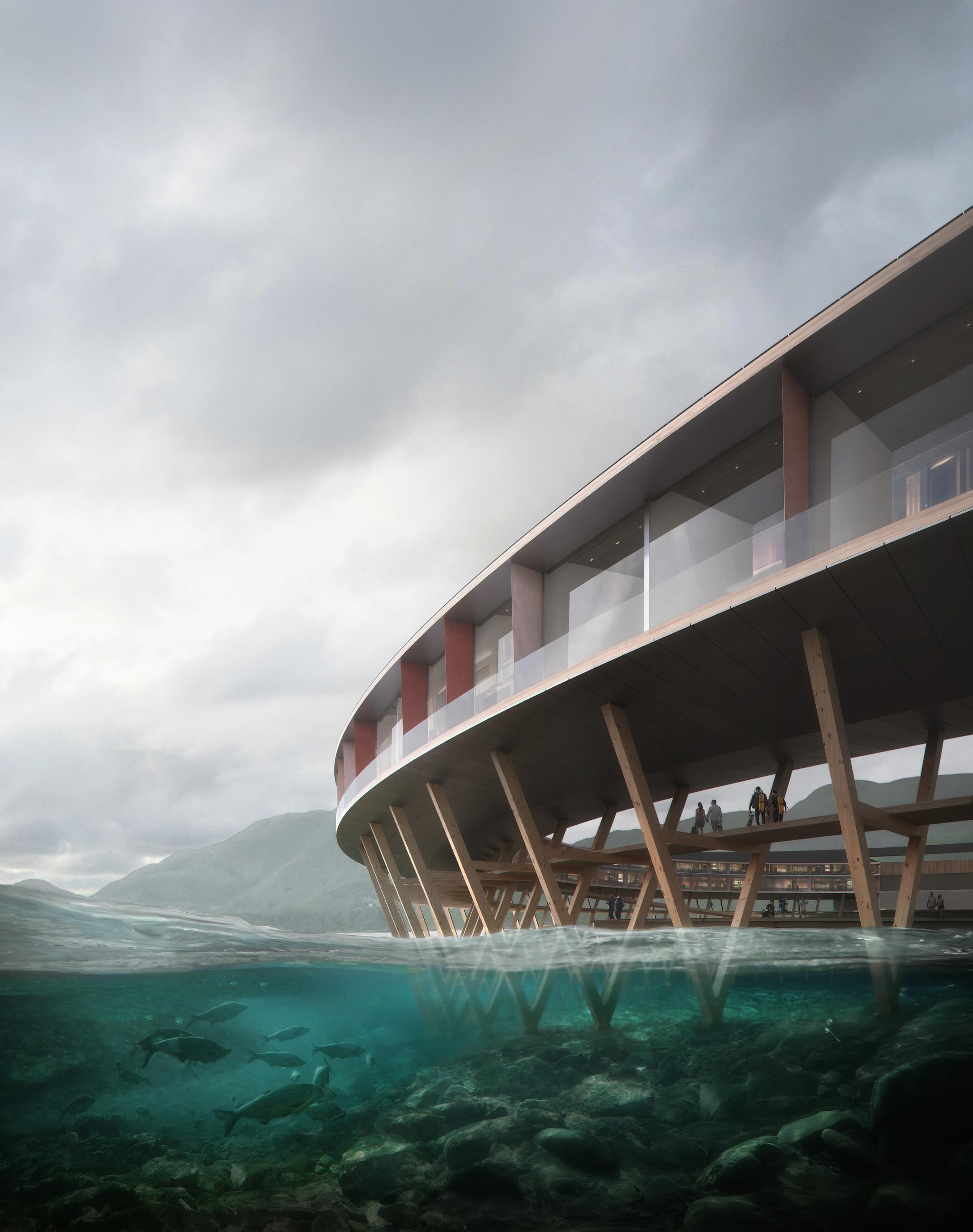 Ci saranno grandi terrazze con vista a 360º  / Snøhetta