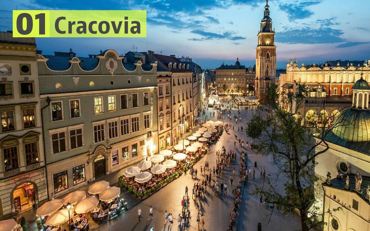 Cracovia (Polonia): 188 euro
