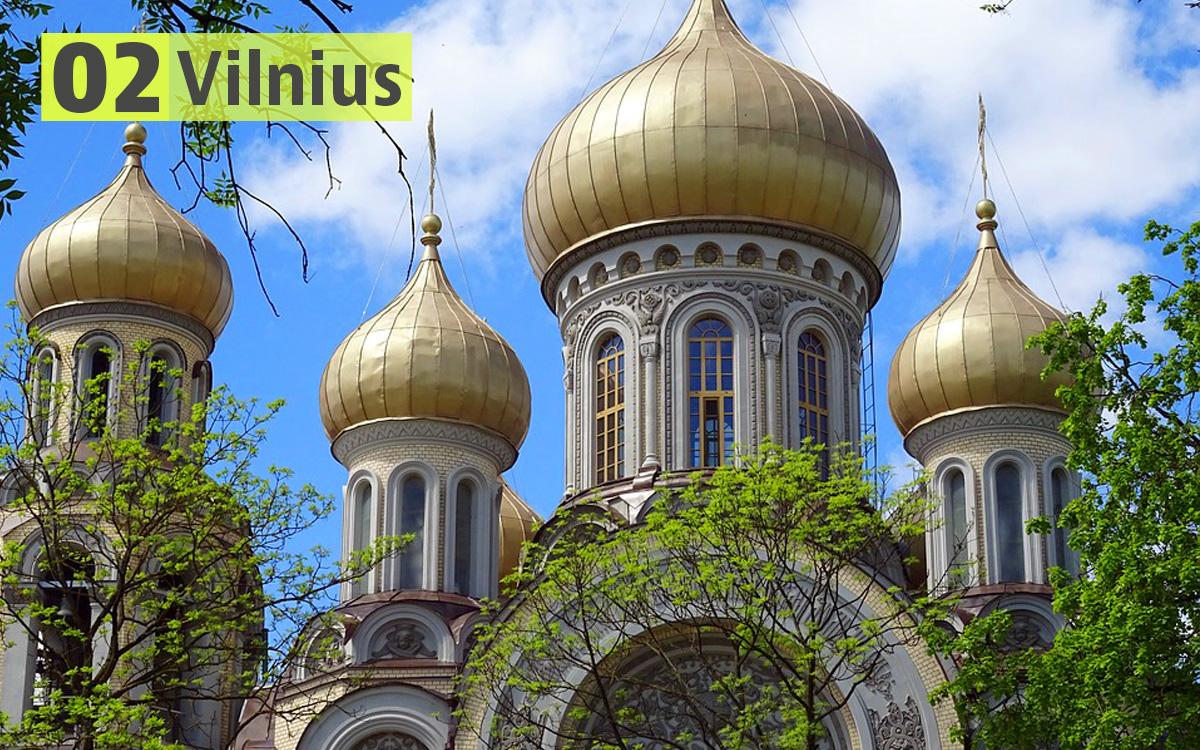 Vilnius (Lituania): 189 euro