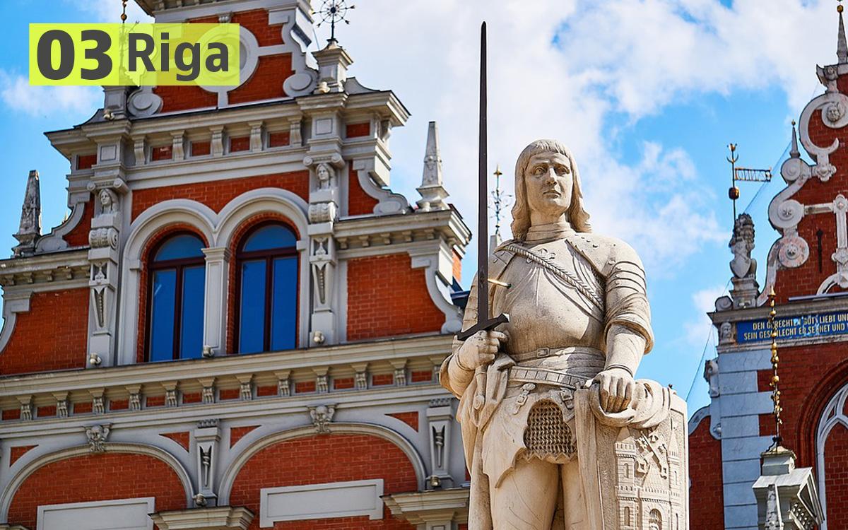 Riga (Lettonia): 197 euro