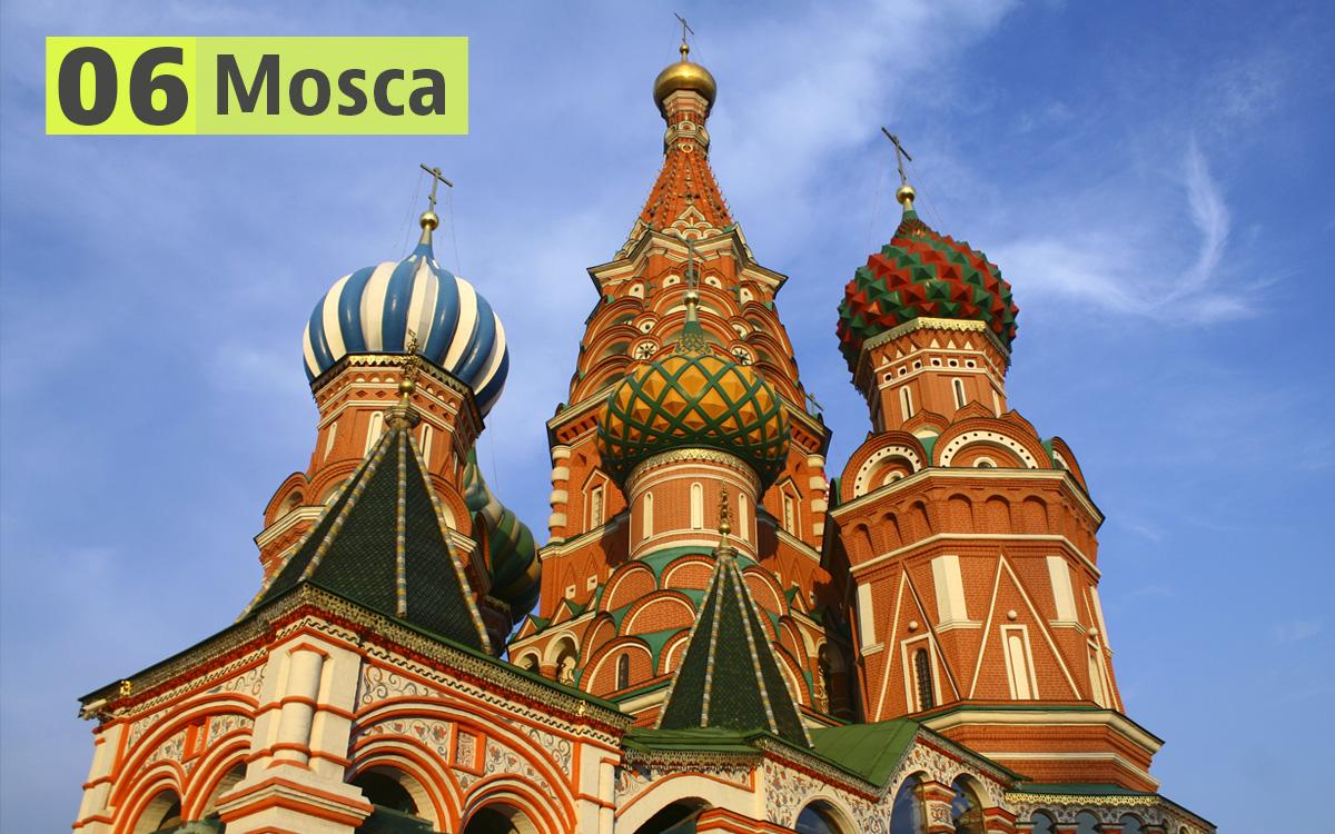 Mosca (Russia): 228 euro