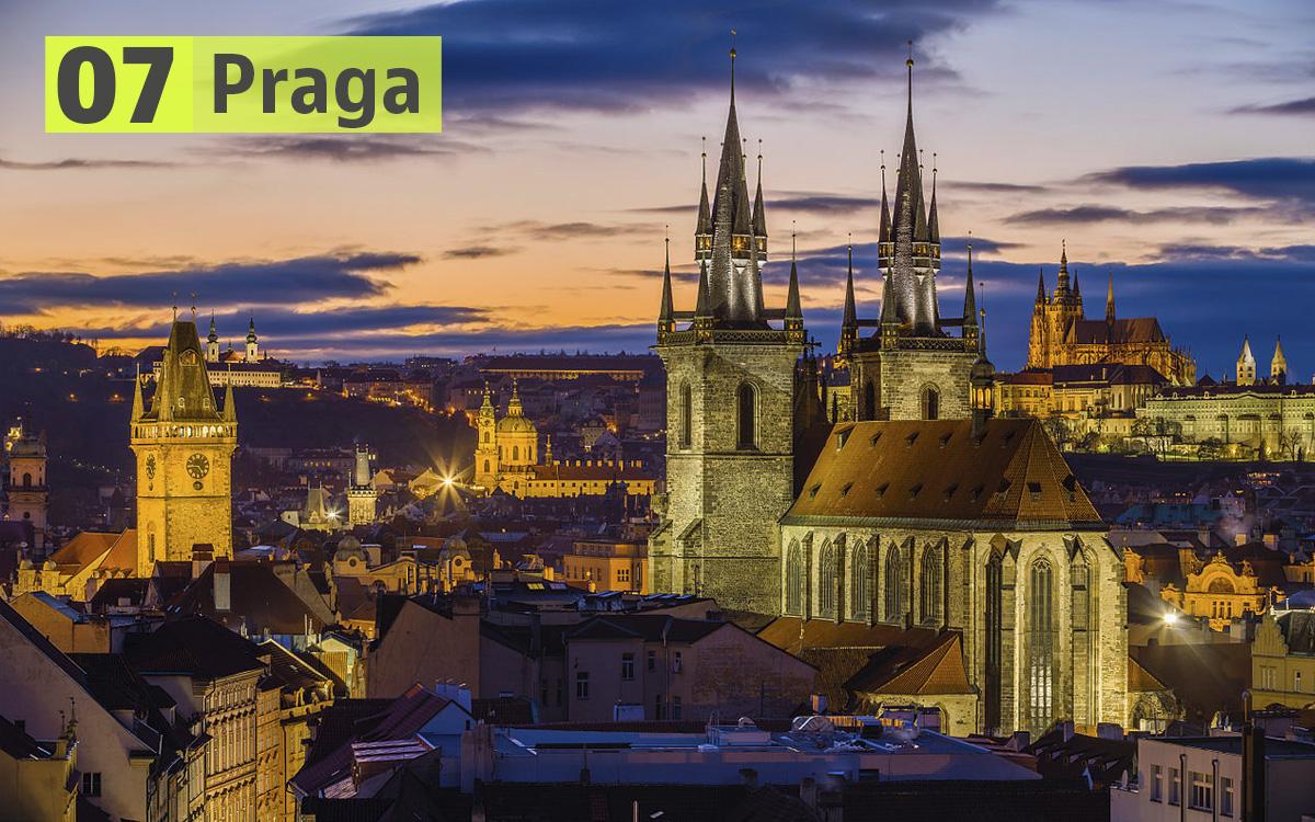 Praga (Repubblica Ceca): 229 euro