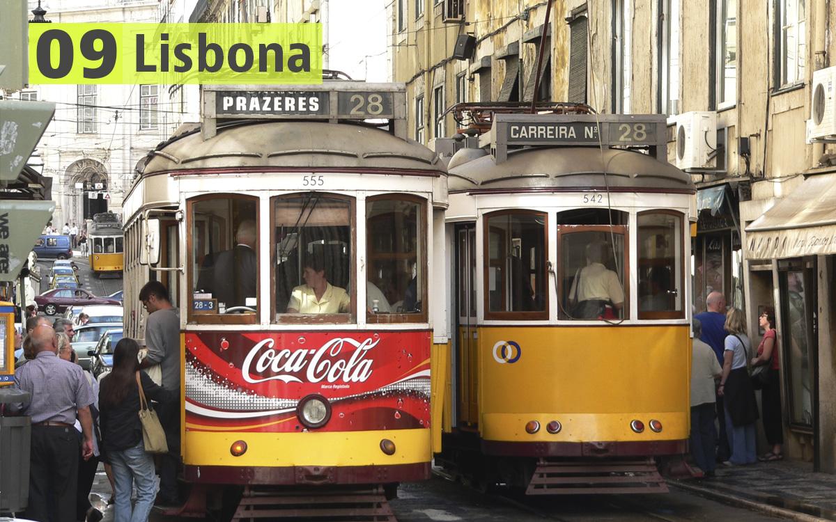 Lisbona (Portogallo): 239 euro