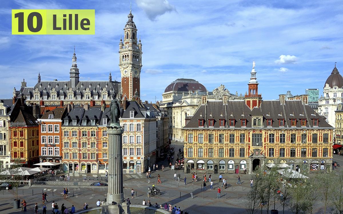 Lille (Francia): 240 euro