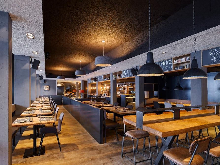 La sala da pranzo / Marc Lins