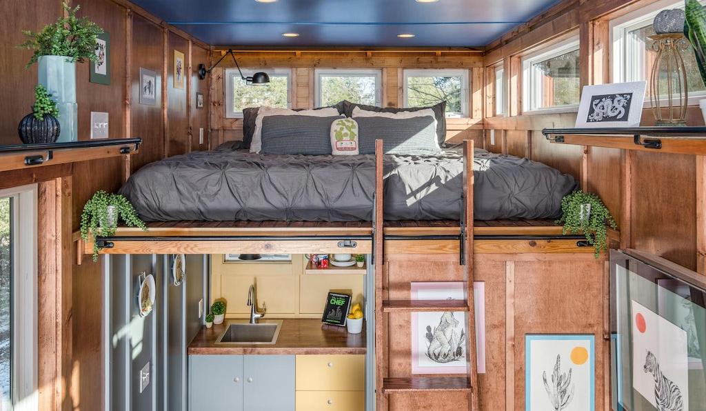 Una mini casa di lusso che ti coster pi di un 39 abitazione for Abitazione di lusso
