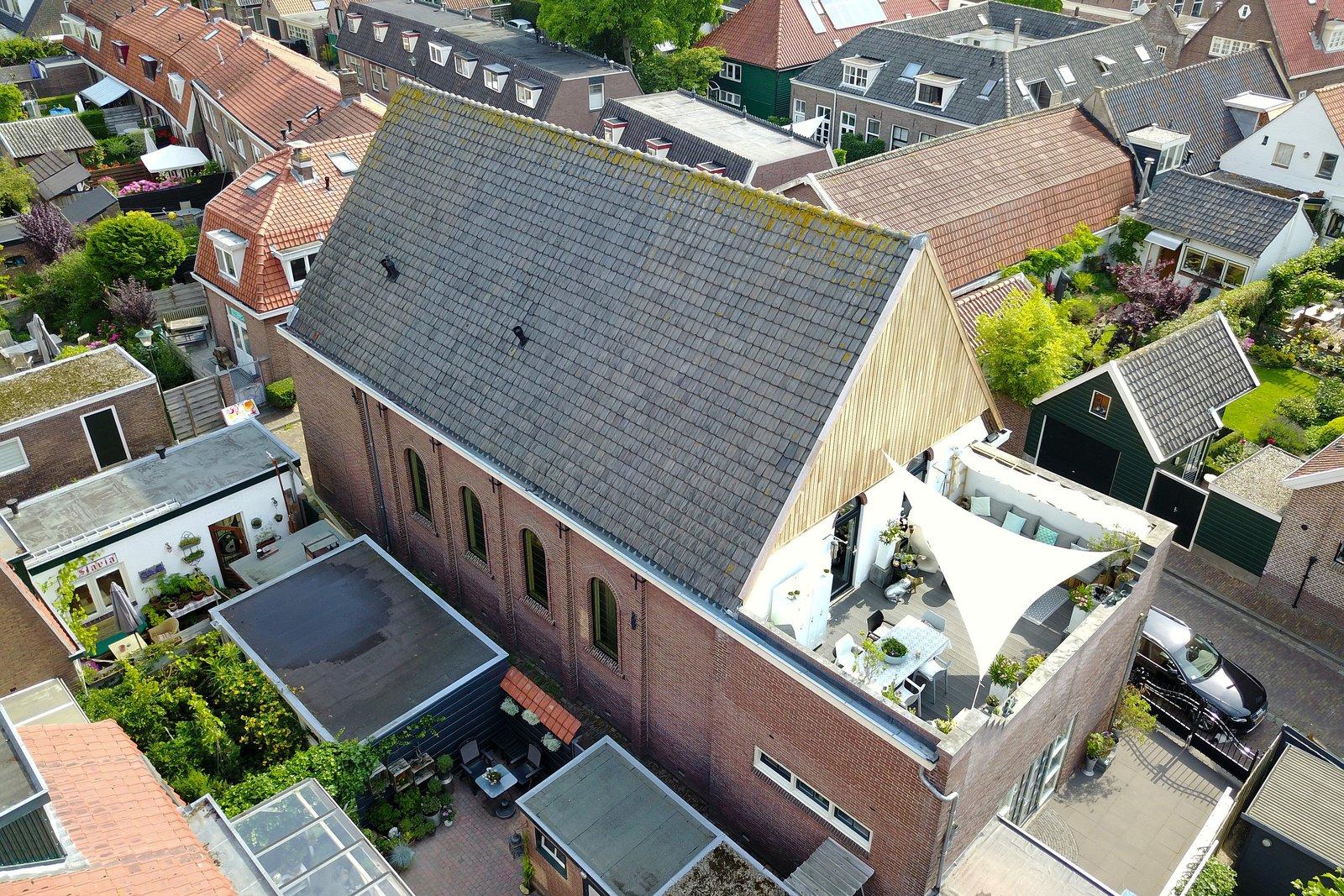 Vista dall'alto della terrazza / Sotheby's