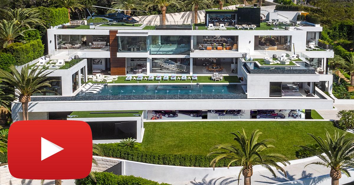 La villa ha un prezzo di 235 milioni di euro / 924 Bel Air Rd.