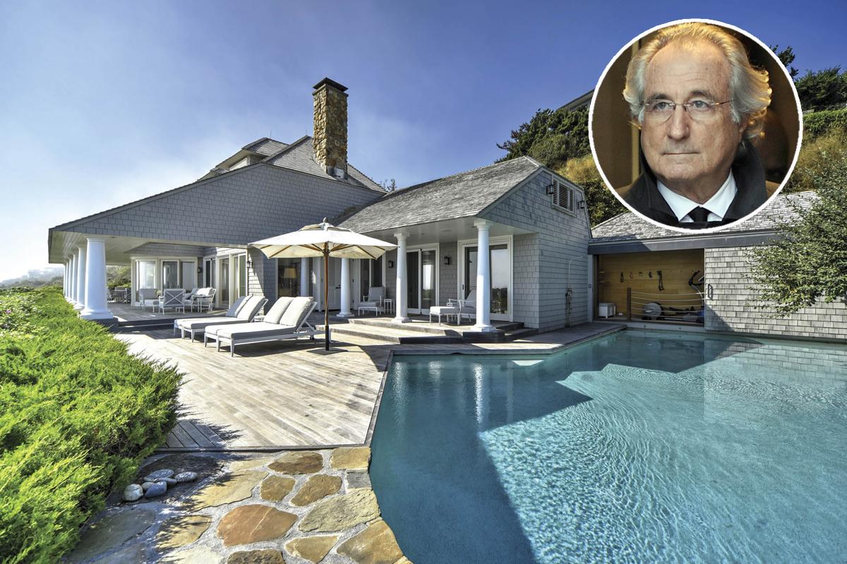 In vendita la villa di bernie madoff creatore della pi for 3 case di storia in california