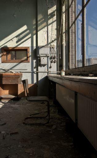 Un dettaglio di un'aula abbandonata / Flickr/Mark