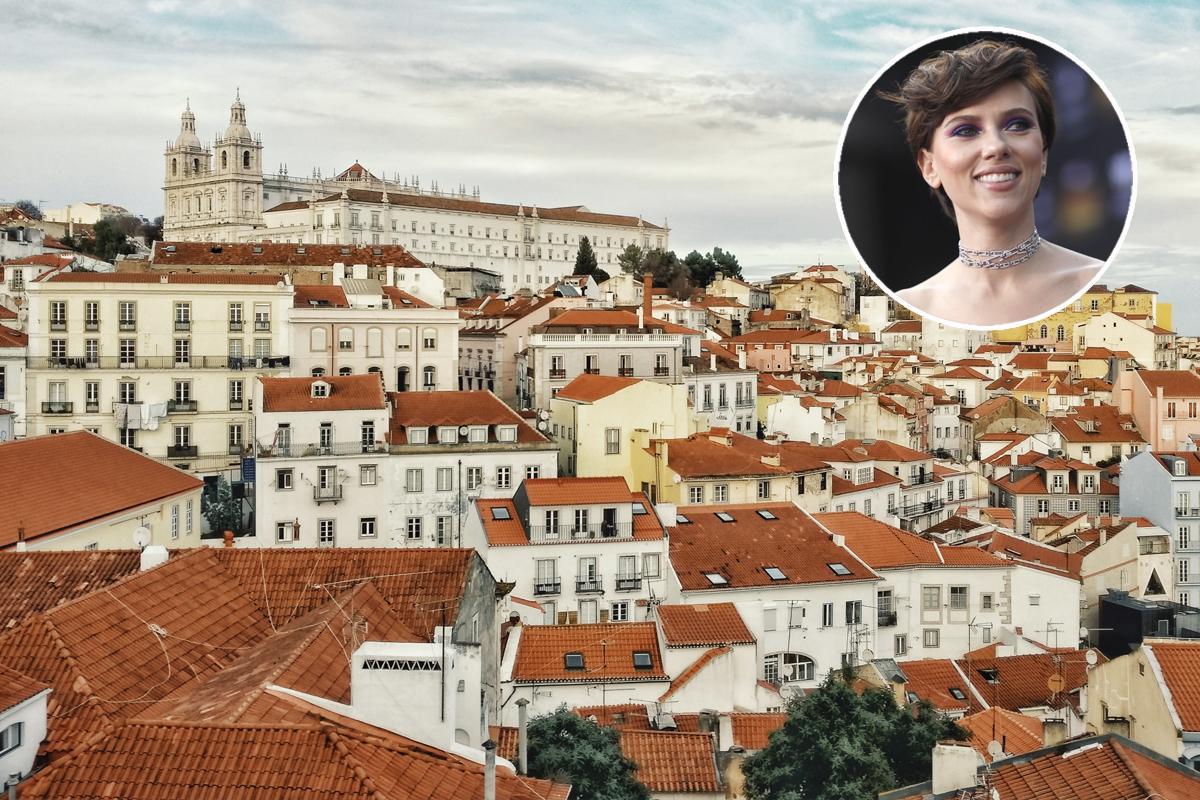 La nuova casa a Lisbona di Scarlett Johansson