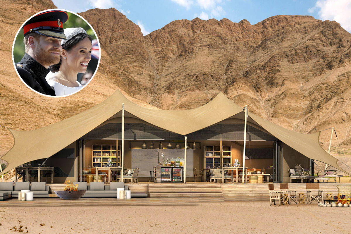 hoanib Valley la meta più accredita per la luna di miele di Harry e Meghan / gtes + Hoanib Valley Camp