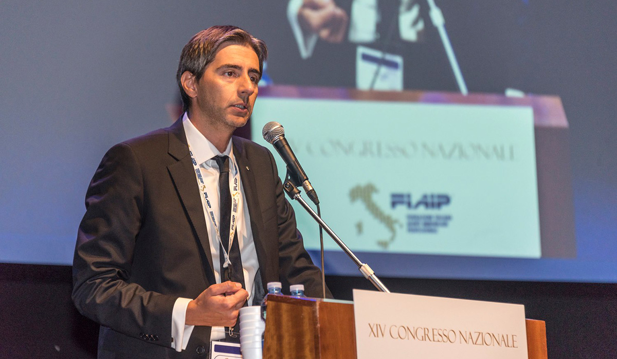 Gian Battista Baccarini. Presidente Nazionale  Fiaip