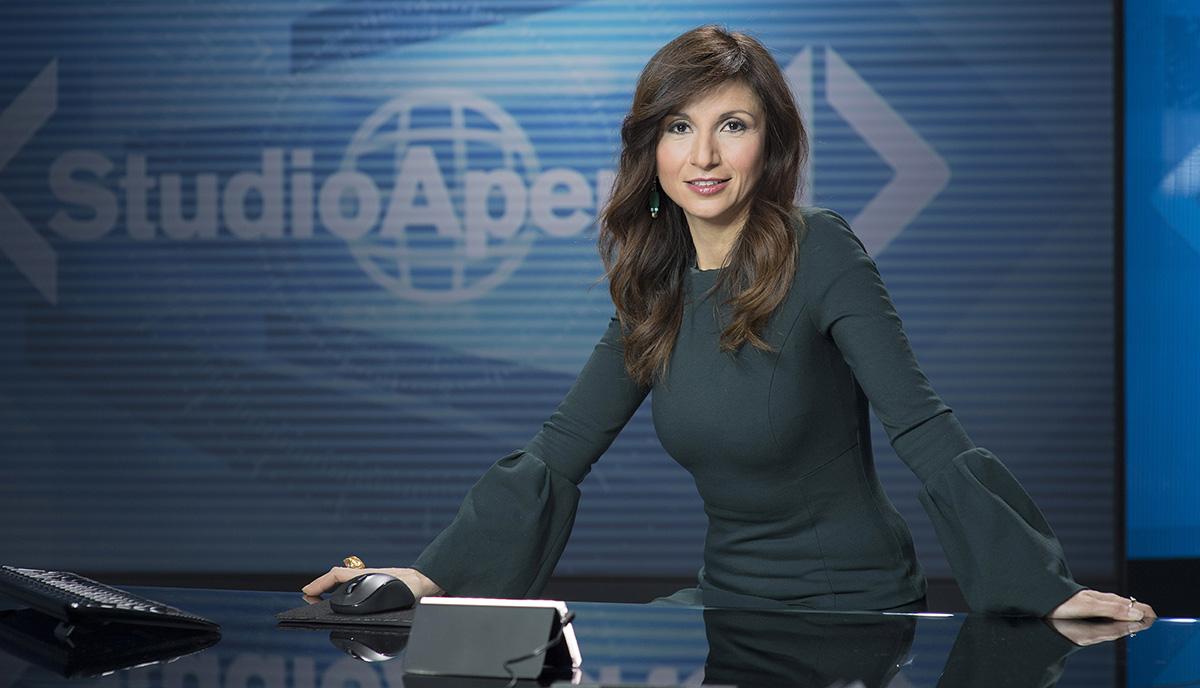 Stefania Cavallaro, conduttrice di Studio Aperto