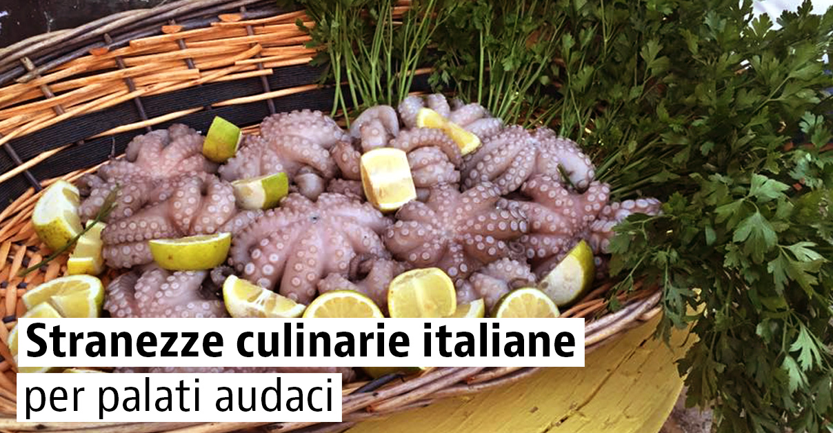 Viaggio in Italia a caccia di curiosità gastronomiche