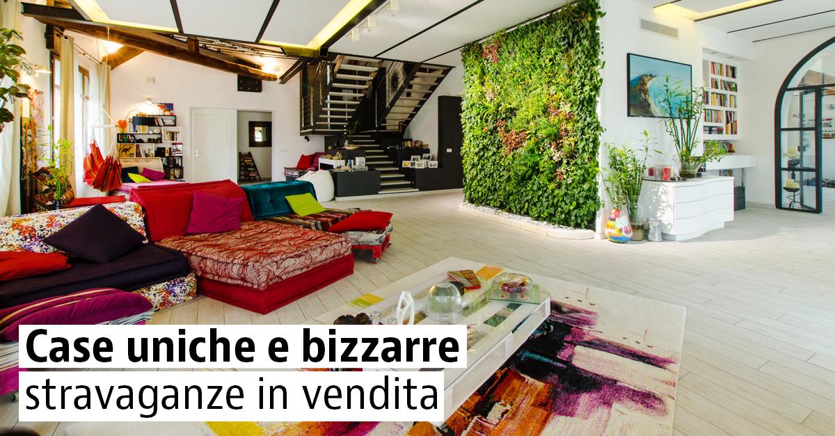 Case uniche e bizzarre in vendita in Italia