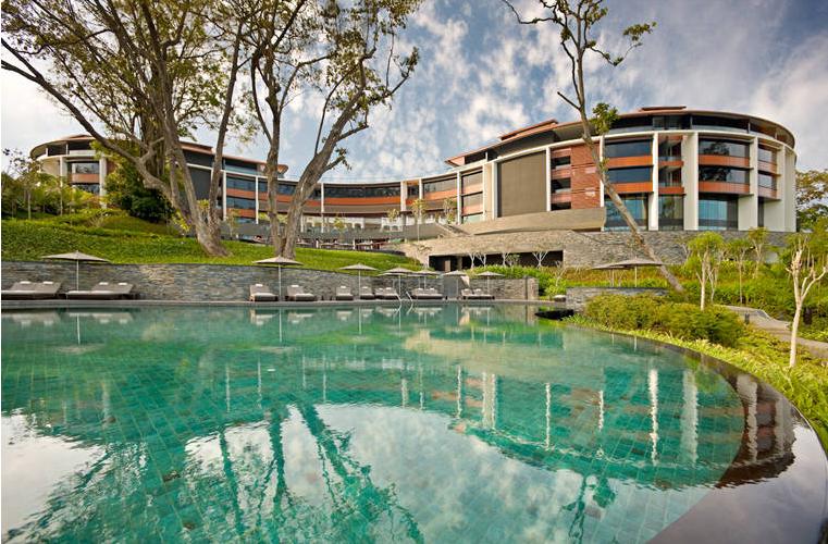 Un'altra panoramica dell'hotel