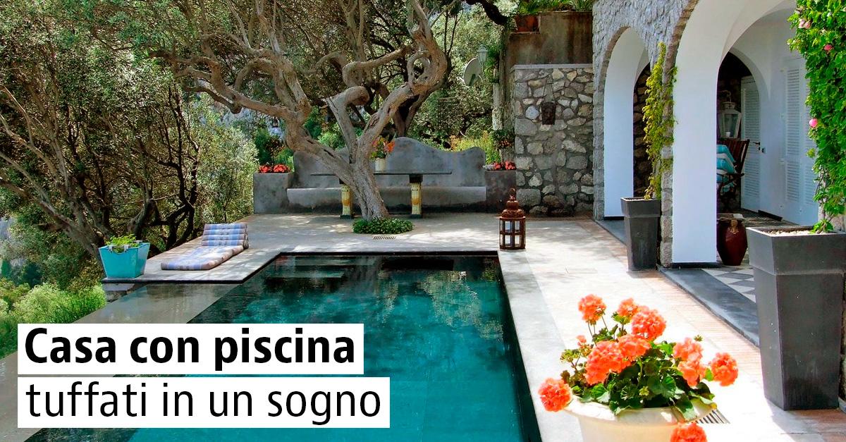 Immobili di prestigio con piscina