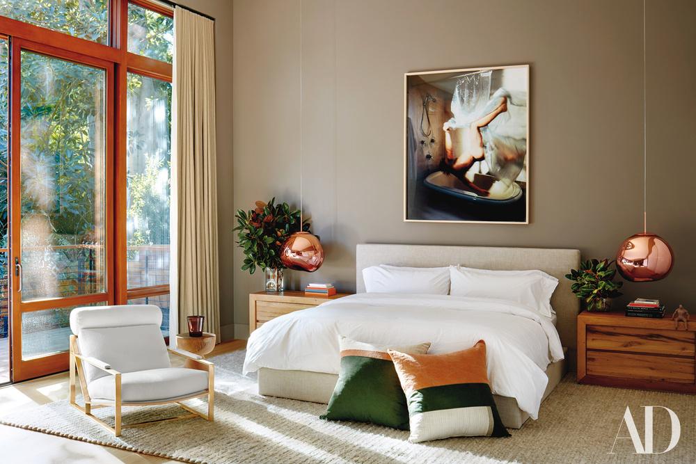 Stanza da letto / Architectural Digest