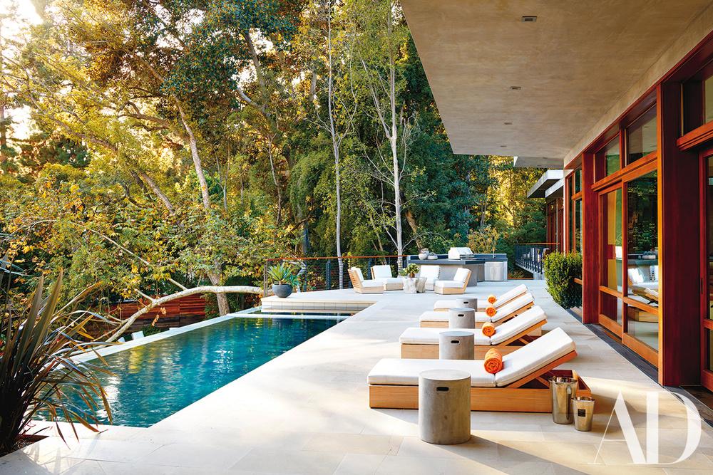 Esterni della villa / Architectural Digest