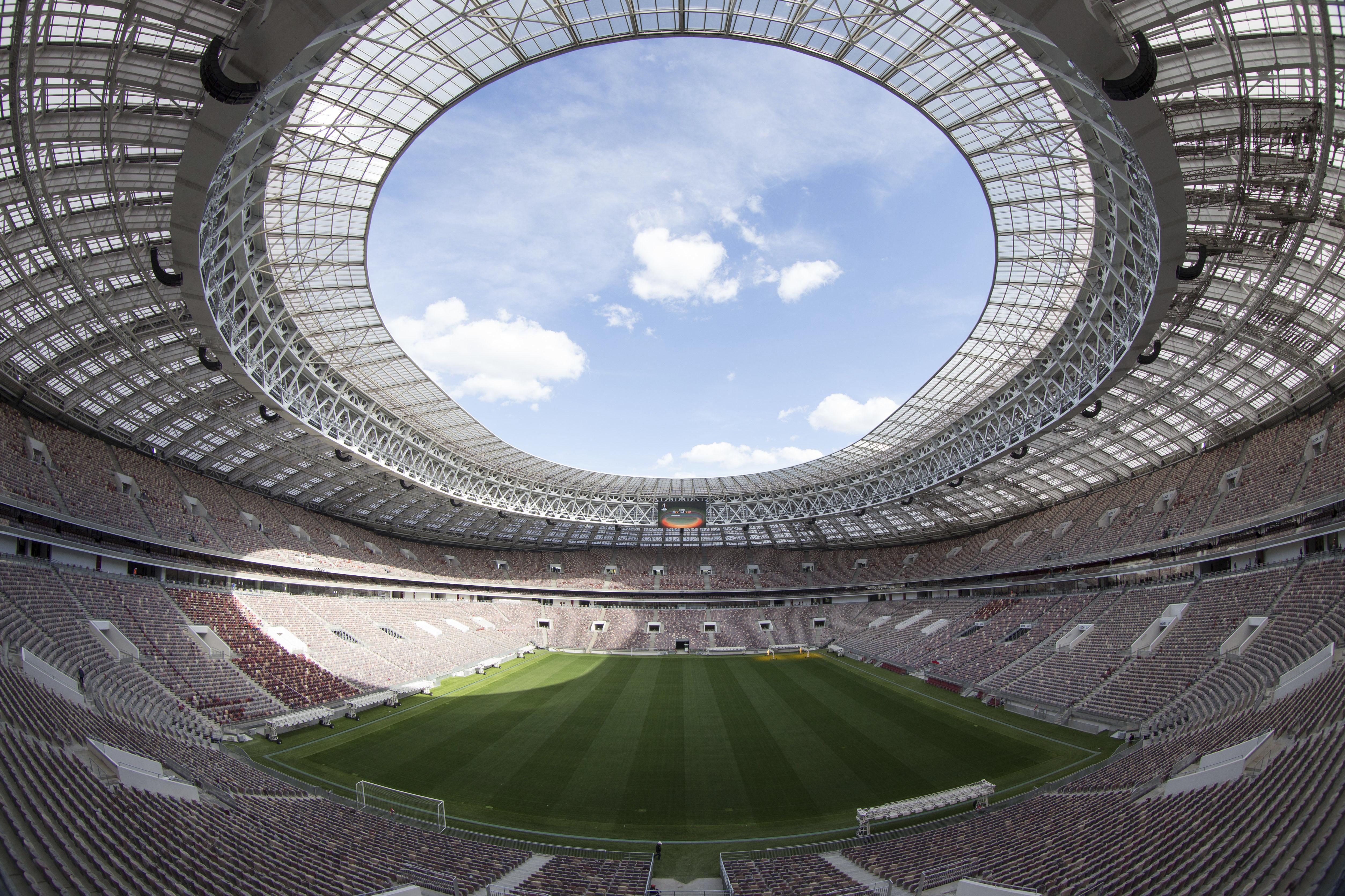 Luzhniki Stadium, sede del partito inaugurale e la finale del Mondiale Russia 2018 / Gtres