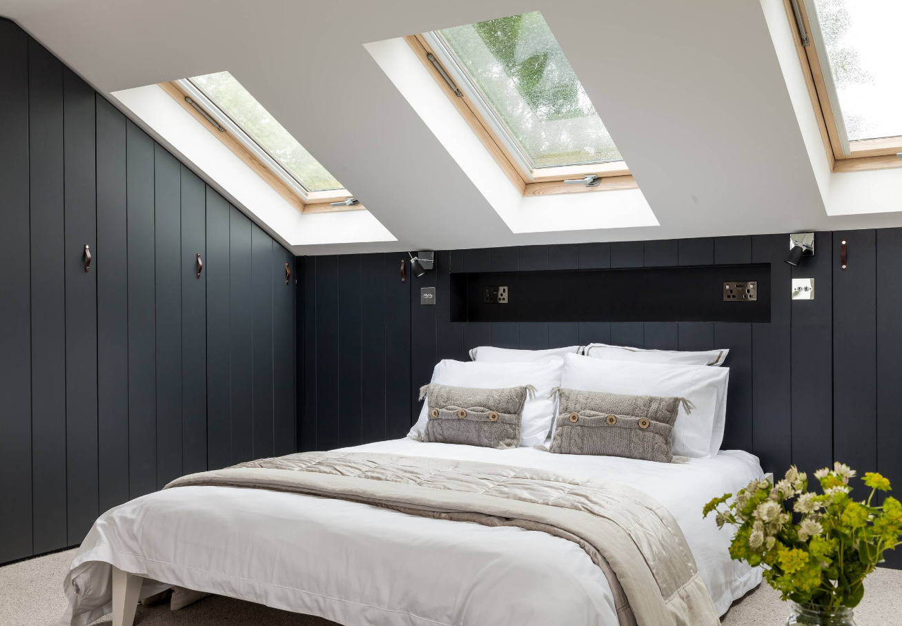 Letto Matrimoniale Incassato Nel Muro : Come progettare una camera da letto senza commettere 10 tipici