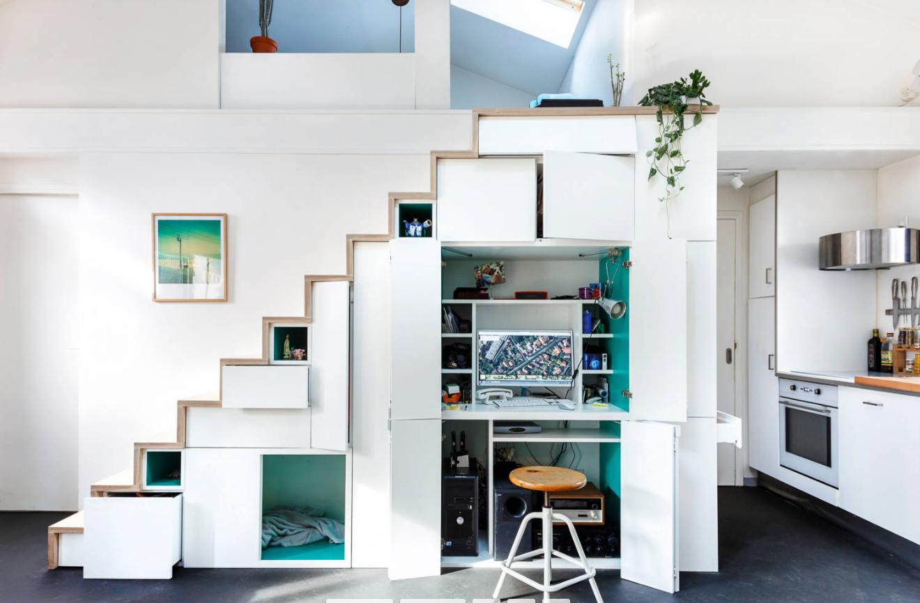 Mobili per la casa salvaspazio idee d arredo per un design