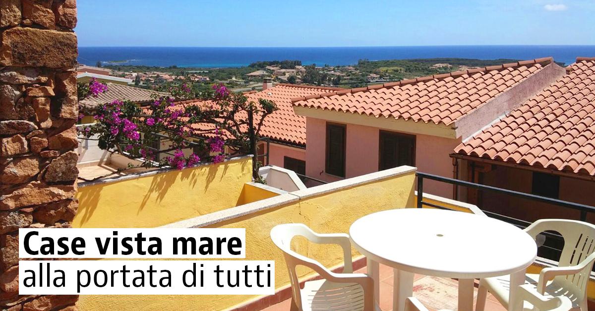 Case vista mare in vendita in Italia