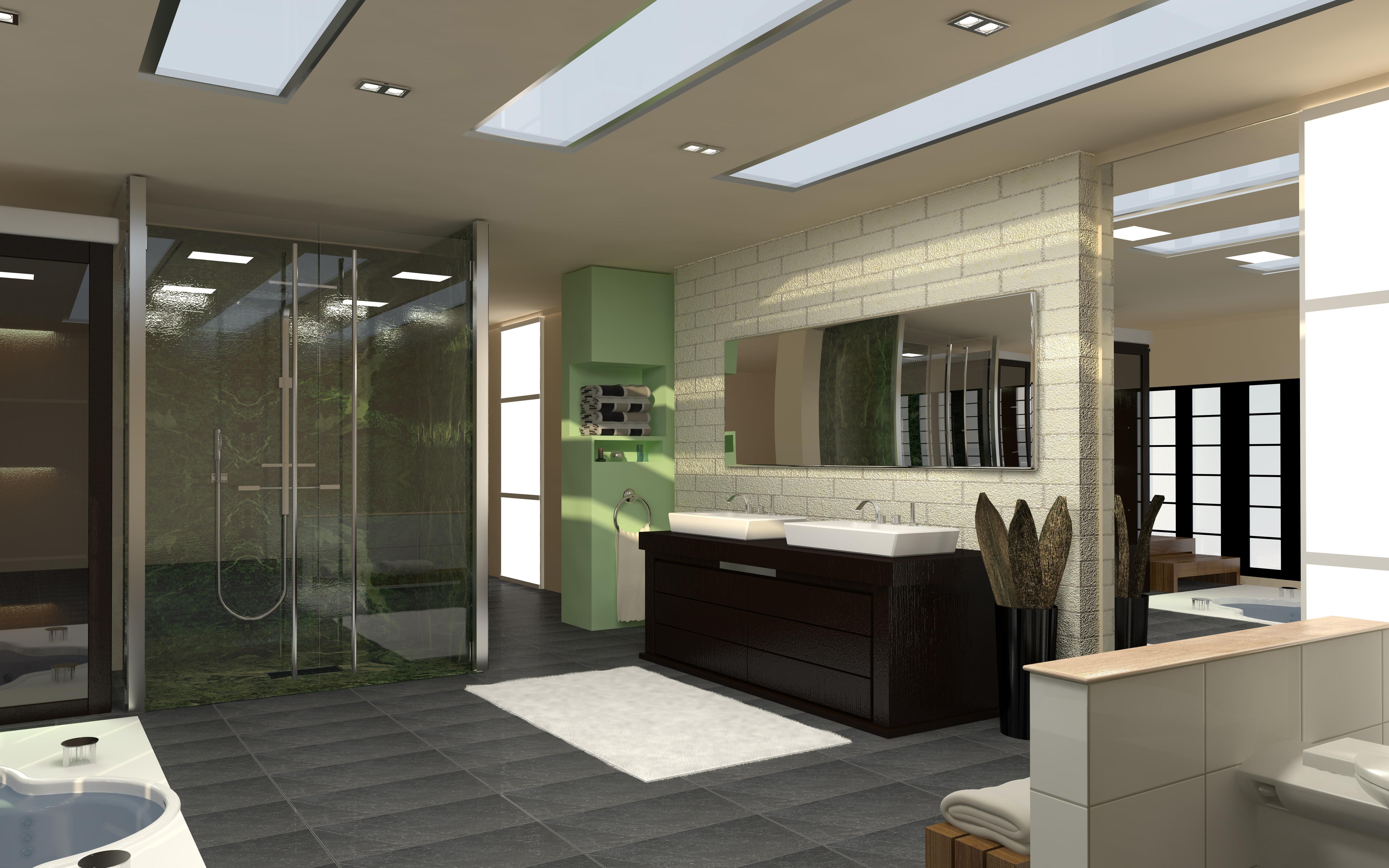 Bagno Con Doccia Walk In : Bagno con la cabina doccia angolare ispirazioni idee progetti
