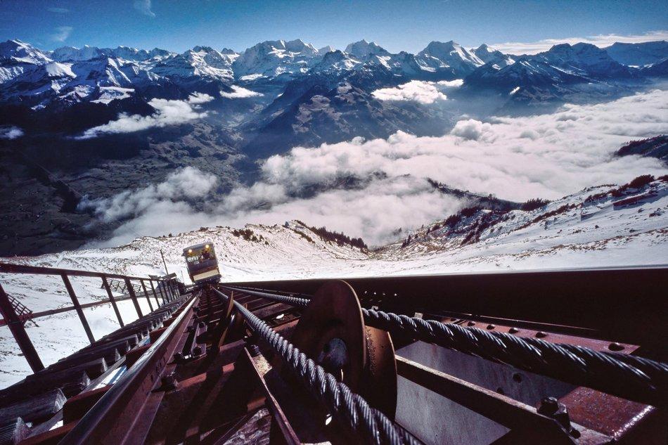 La ferrovia Niese, Svizzera