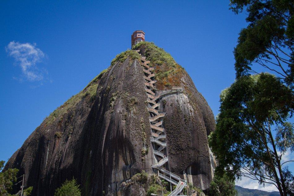 La roccia di Guatapé, Colombia