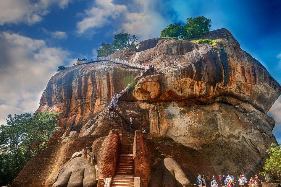 Scalinata Haiku, Sigiriya, Sri Lanka