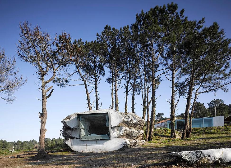 Si trova nella Costa della Morte, in Galizia