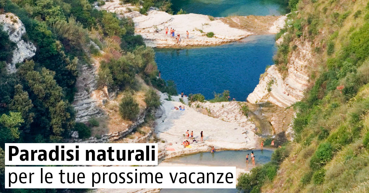 Piscine naturali in Italia