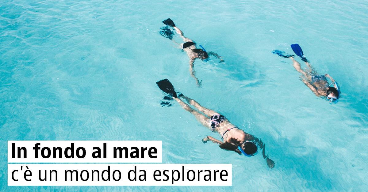 Snorkeling in Italia