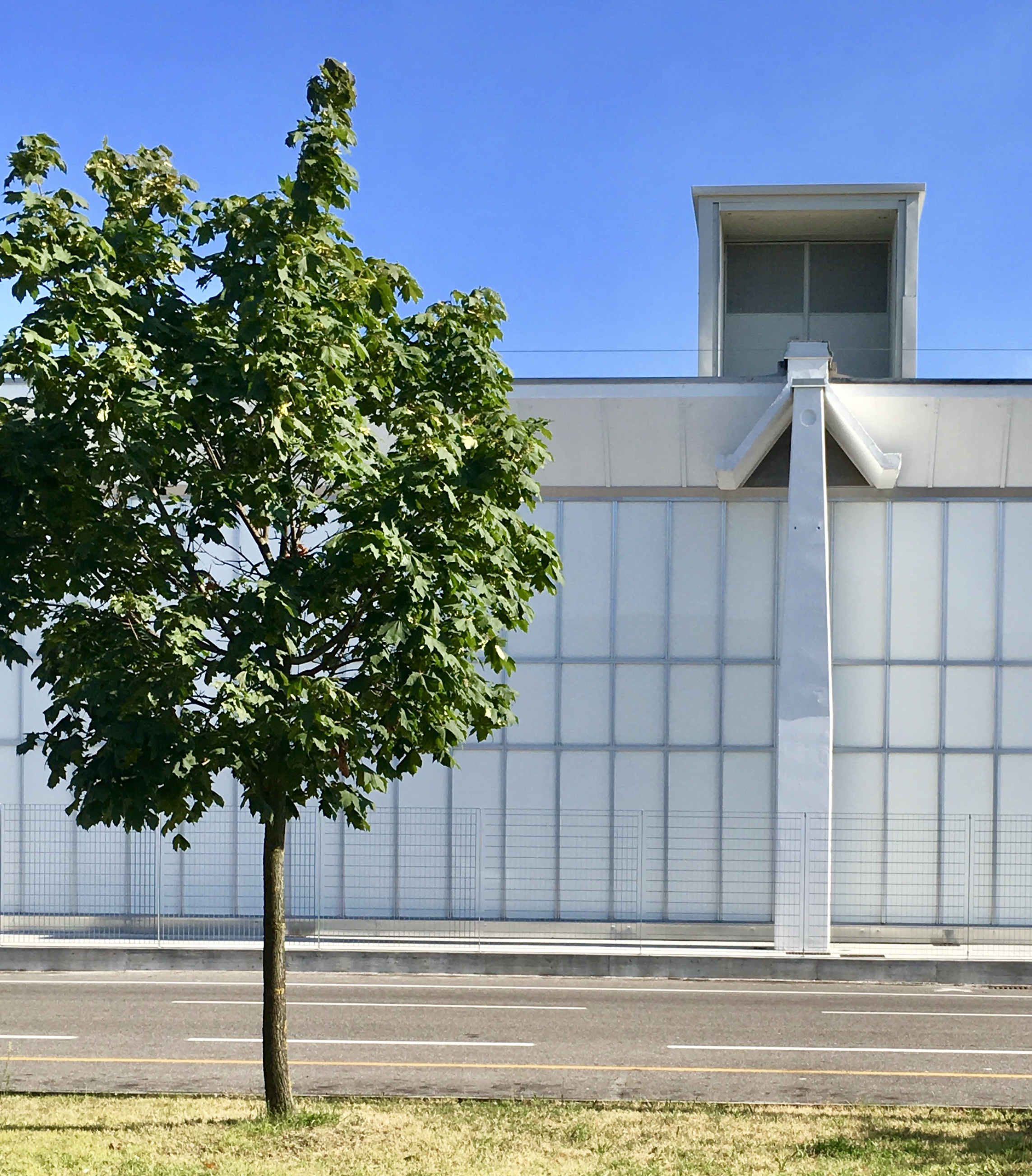 La facciata a fine lavori / Ermentini Architetti