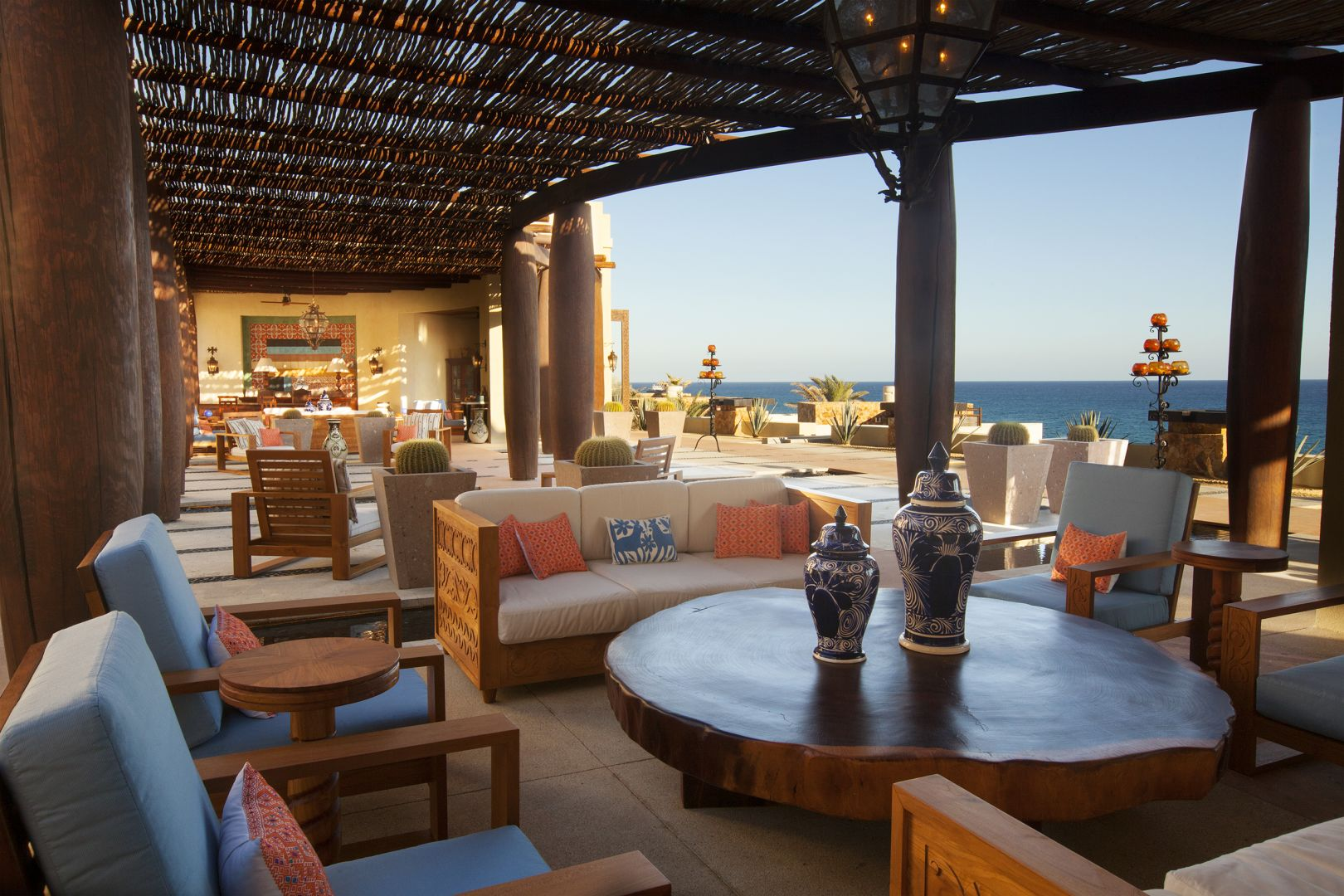 Patio / The Resort at Pedregal