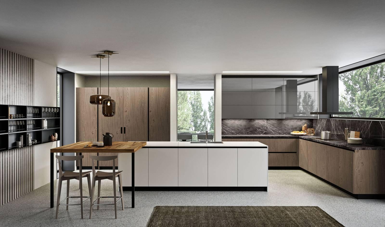 21 idee per frazionare un appartamento fotogallery for Isola cucina moderna