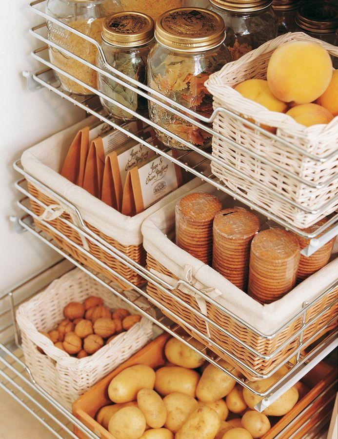 Raggruppare e separare gli alimenti
