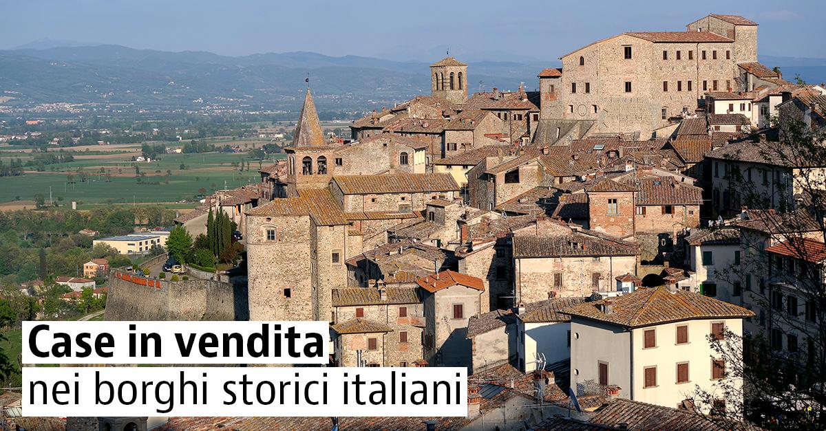Case in vendita nei borghi italiani più belli