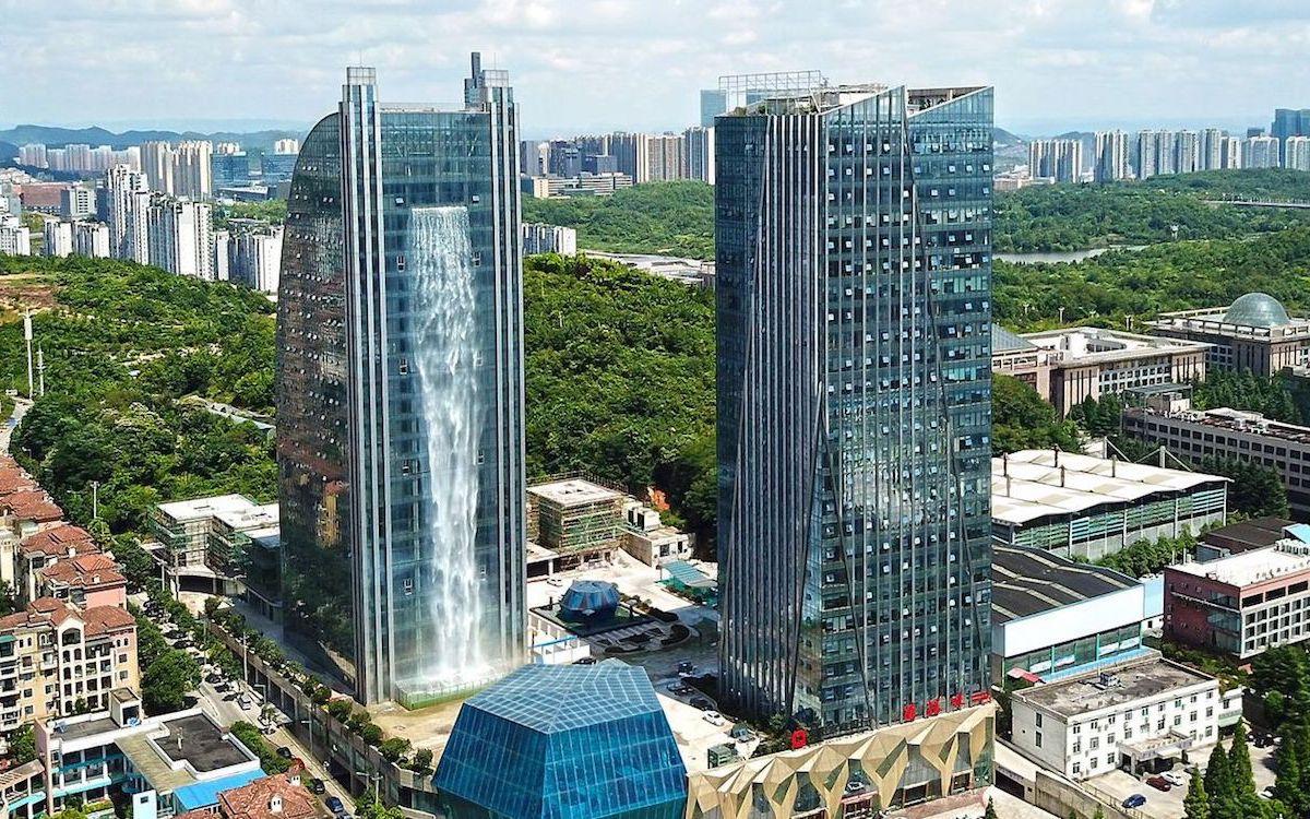 Vista panoramica / Liebian Building