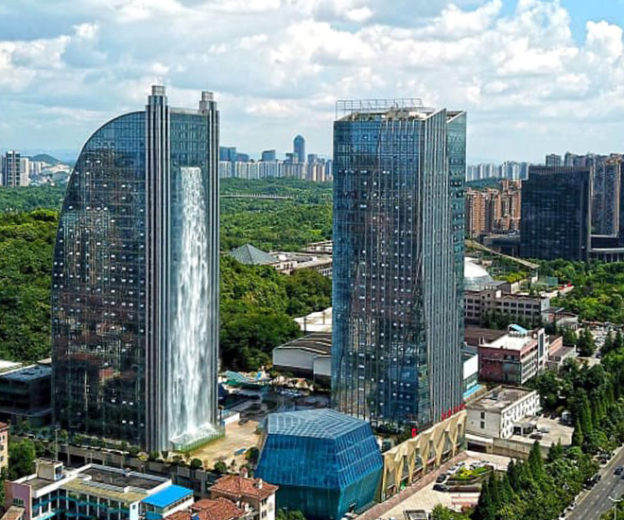 Liebian Building è un grattacielo situato nella regione di Guiyang, in Cina / Liebian Building