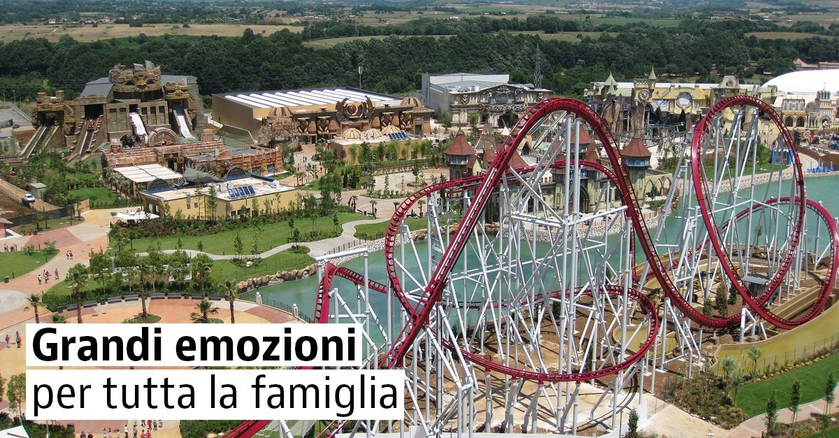 I migliori parchi divertimento d'Italia